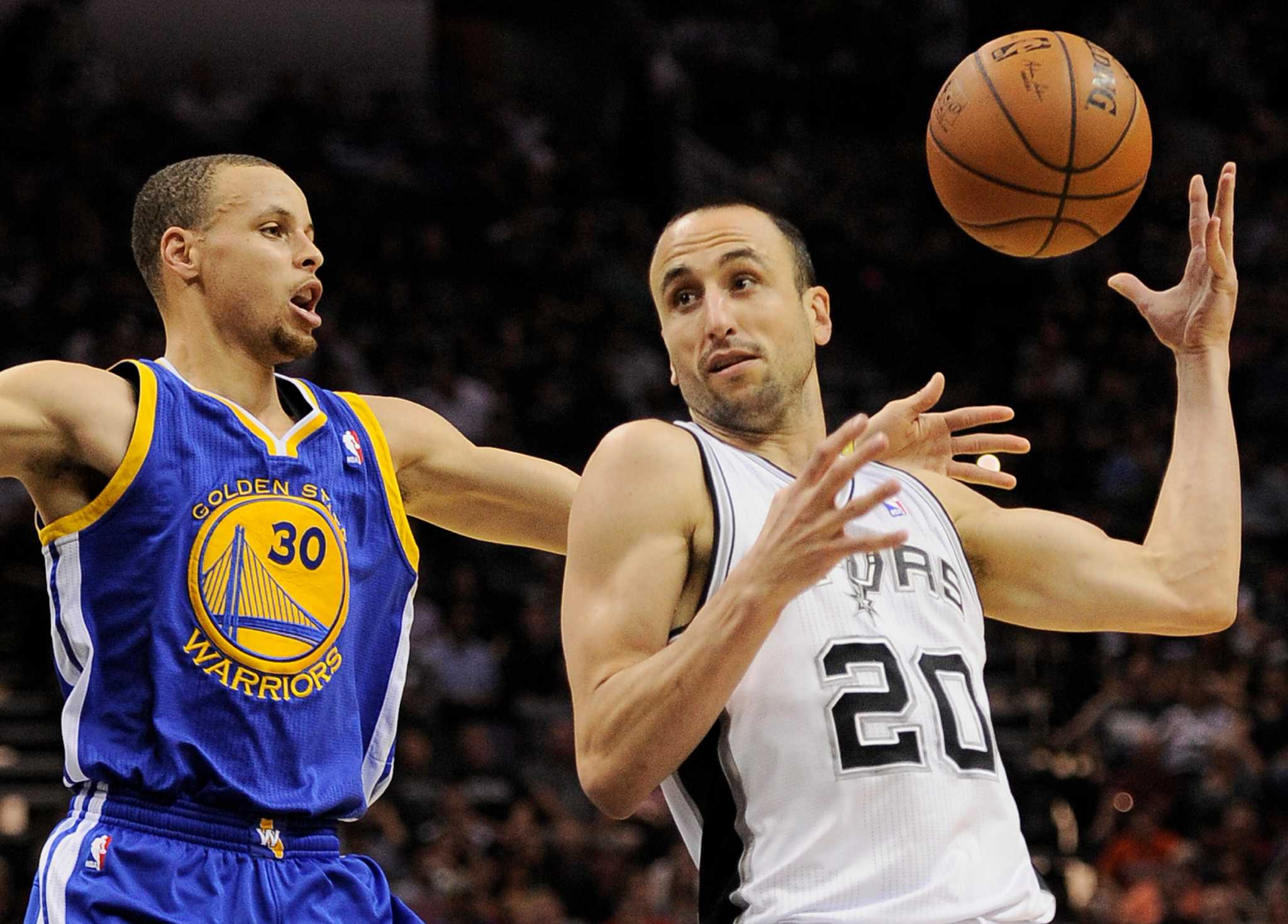 Warriors coach Steve Kerr sees some Manu Ginobili in Steph Curry