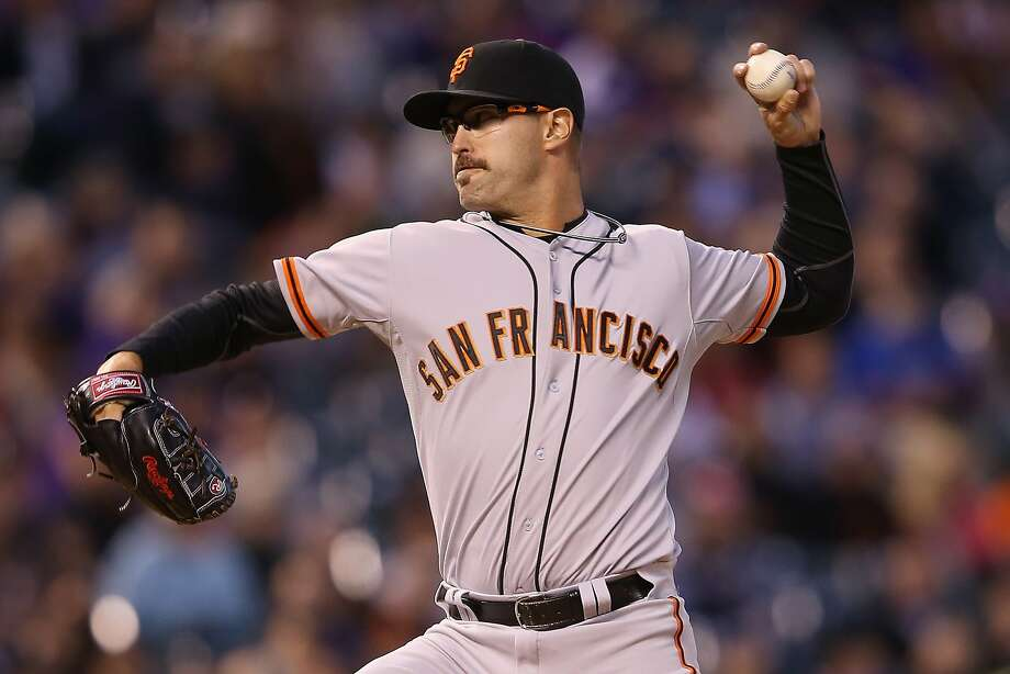 DENVER, CO - APRIL 21:  Relief pitcher David Huff #34 of the San Francisco Giants delivers against the Colorado Rockies at Coors Field on April 21, 2014 in Denver, Colorado.  (Photo by Doug Pensinger/Getty Images) Photo: Doug Pensinger, Getty Images