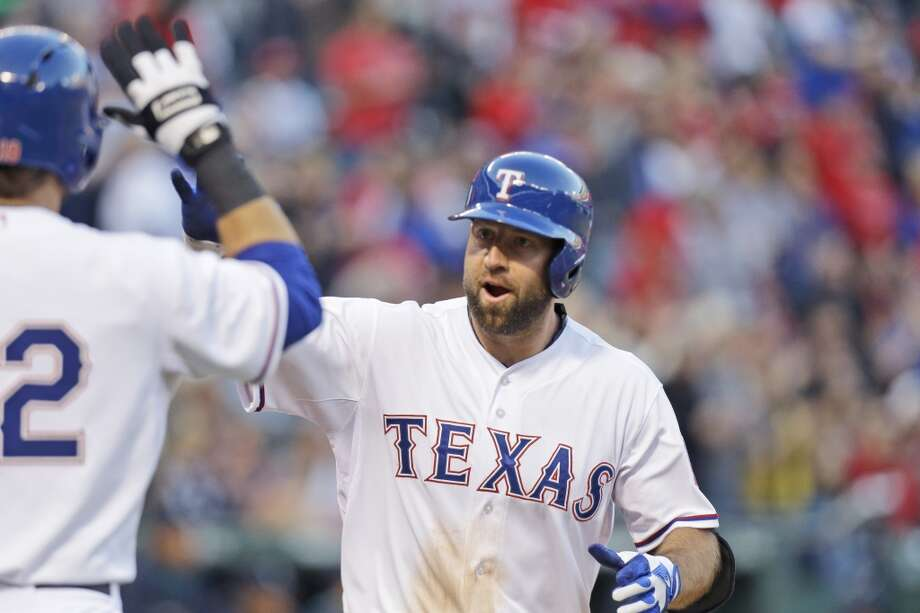 Tuesday, April 15 Mariners 0, at Rangers 5 Seattle's offense came crashing back to earth on Tuesday, with Texas starter Robbie Ross tossing 7 2/3 scoreless innings for the win. Recently recalled third baseman Kevin Kouzmanoff was the offensive hero for the Rangers with a homer and two doubles. Photo: LM Otero, Associated Press