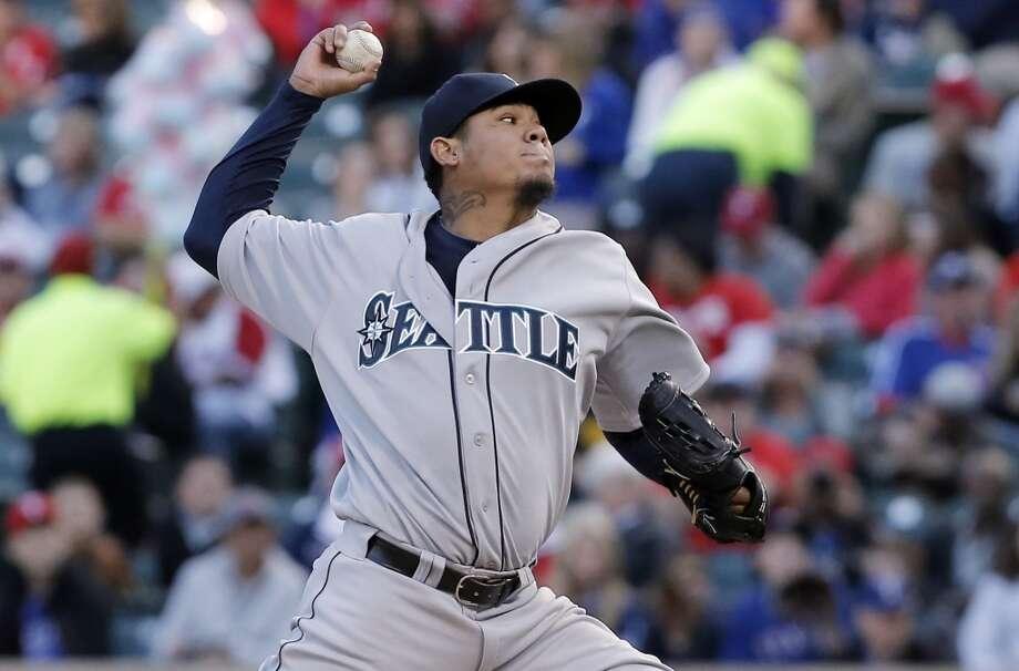What went right?Well ... Felix Hernandez is pretty good. Photo: Brandon Wade, Associated Press