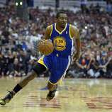 Apr 21, 2014; Los Angeles, CA, USA; Golden State Warriors guard Jordan Crawford (55) drives against the Los Angeles Clippers during the first half in game two during the first round of the 2014 NBA Playoffs at Staples Center. Mandatory Credit: Richard Mackson-USA TODAY Sports