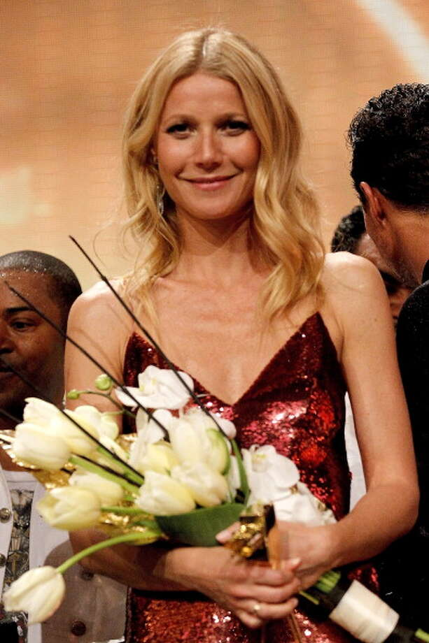 Gwyneth Paltrow attends the Goldene Kamera 2014 at Tempelhof Airport on February 01, 2014 in Berlin, Germany. (Photo by Franziska Krug/Getty Images ) Photo: Franziska Krug, Getty Images / 2014 Franziska Krug