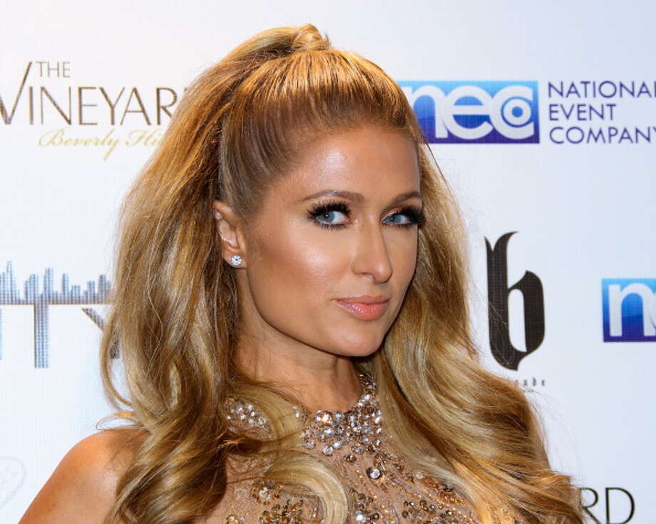 Paris Hilton attends the Fame And Philanthropy post-Oscar party at The Vineyard on March 2, 2014 in Beverly Hills, California.  (Photo by Paul Archuleta/FilmMagic) Photo: Paul Archuleta, FilmMagic / 2014 Paul Archuleta