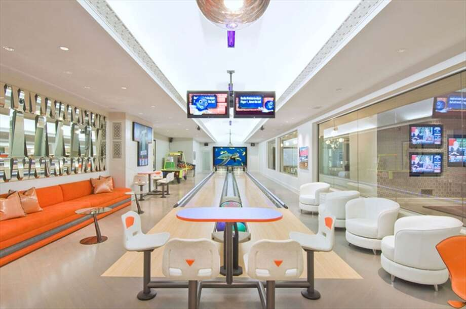 The 2-lane bowling alley Photo: The Corcoran Group