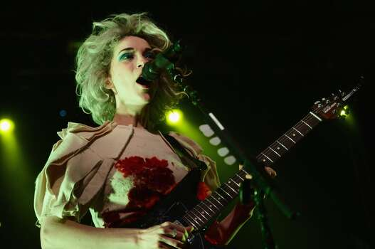 St. Vincent:Fridays, October 3 & 105:15-6:15 p.m.RetailMeNot Stage Photo: Michael Loccisano, Getty Images For SXSW