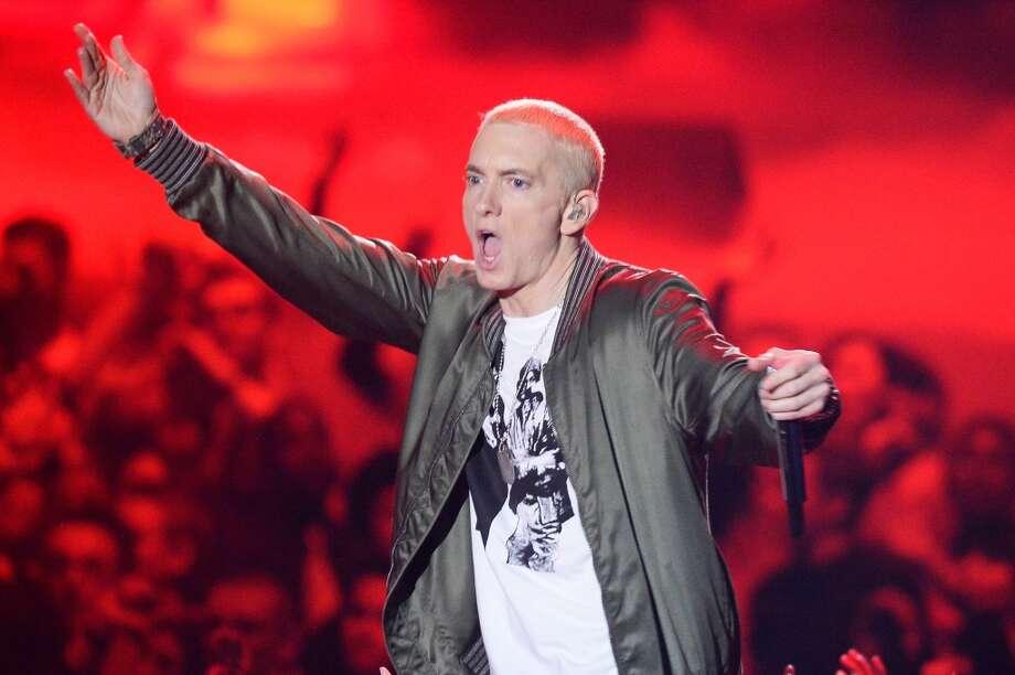 Eminem Photo: Kevork Djansezian, Getty Images For MTV