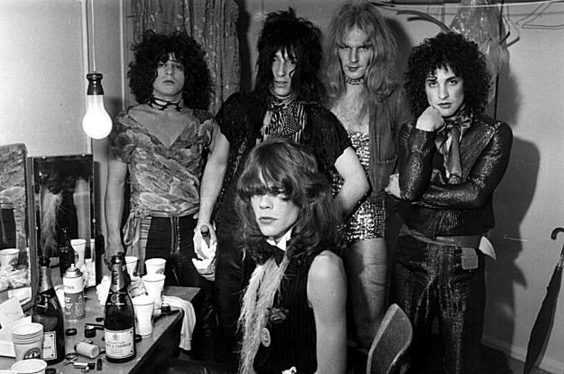 Influential American Glam Rock Band The New York Dolls
