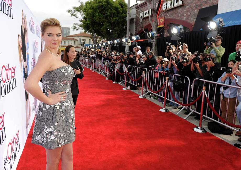 "Actress/model Kate Upton attends the premiere of Twentieth Century Fox's ""The Other Woman"" at Regency Village Theatre on April 21, 2014 in Westwood, California. Photo: Kevin Winter, Getty Images / 2014 Getty Images"