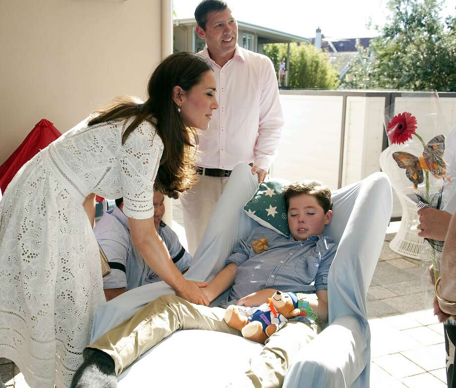 Prince William, Duke of Cambridge (not pictured) and his wife Catherine, Duchess of Cambridge visit children and relatives at the Bear Cottage Hospice at Manly on April 18, 2014 in Sydney, Australia. The Duke and Duchess of Cambridge are on a three-week tour of Australia and New Zealand, the first official trip overseas with their son, Prince George of Cambridge.  Photo: Pool, Getty Images