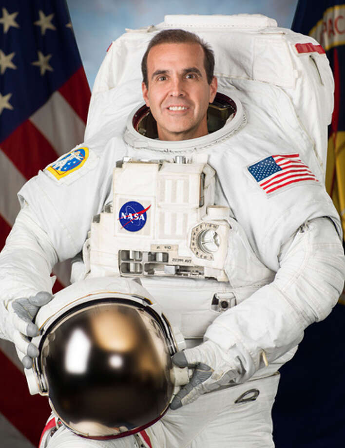 The University of Connecticut will host 9 commencement speakers this year:- School of Engineering, May 10: Astronaut and engineer Rick Mastracchio (pictured) is currently orbiting Earth aboard the International Space Station and that will be the spot where he records his commencement remarks for the School of Engineering ceremony.  Mastracchio's speech will be broadcast to an audience that will include his own family along with the graduating seniors and their families.- Graduate School, May 10: Liza Donnelly, Doctor of Fine Arts- School of Pharmacy, May 10: Peter R. Farina, Doctor of Science- College of Agriculture and Natural Resources, May 10: George M. Woodwell, Doctor of Science- College of liberal Arts and Science, May 11: Philip Uri Treisman, Doctor of Humane Letters- School of Nursing, May 11: Martin McNamara, Doctor of Science- School of Business, May 11: Philip H. Lodewick, Doctor of Humane Letters- Medical School, May 18: Richard Besser, Doctor of Science- Law School, May 18: Barry C. Scheck, co-founder of the non-profit legal clinic Innocence ProjectClick here for full bios of all the speakers. / Hasselblad H3D