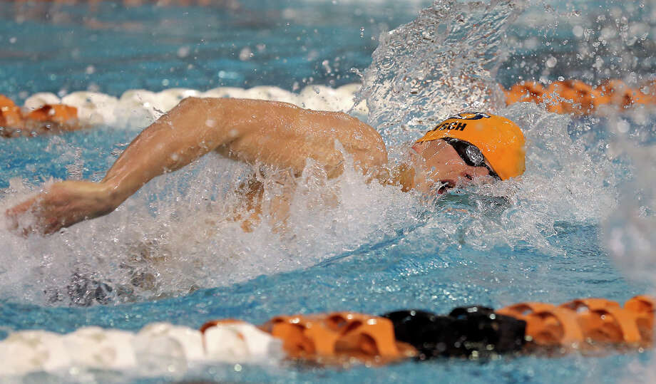 Boys swimmer of the year: Aaron Brysch, Brandeis senior. Photo: TOM REEL