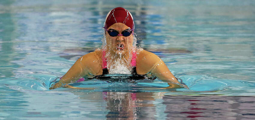 Girls swimmer of the year: Marian Yurchishin, Health Careers junior.