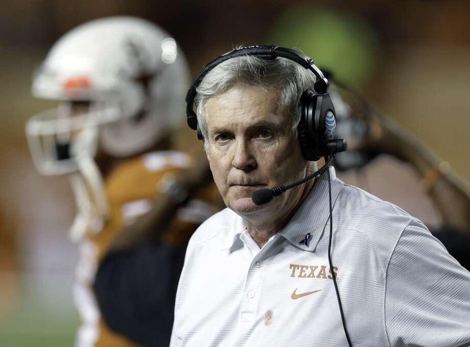 It's Texas coach Mack Brown.