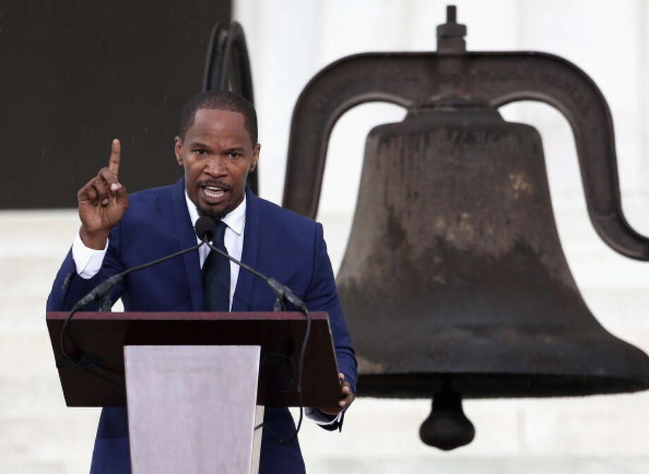 It's Jamie Foxx. Photo: Alex Wong, Getty Images / 2013 Getty Images