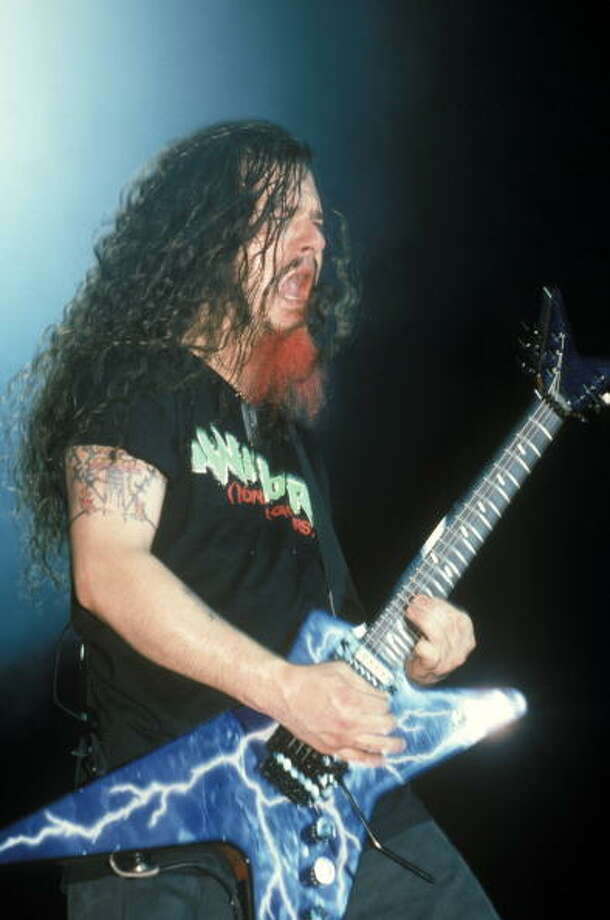 This guitarist played for one of the greatest heavy metal bands of all time. Photo: George De Sota, Redferns / Redferns