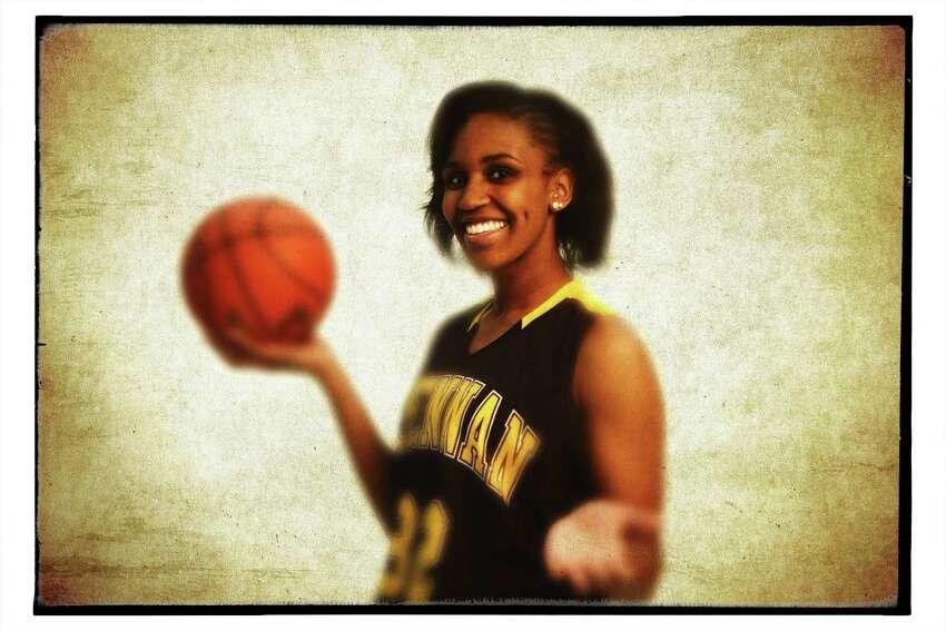 Girls basketball super team: Tanaeya Boclair, Brennan senior forward.