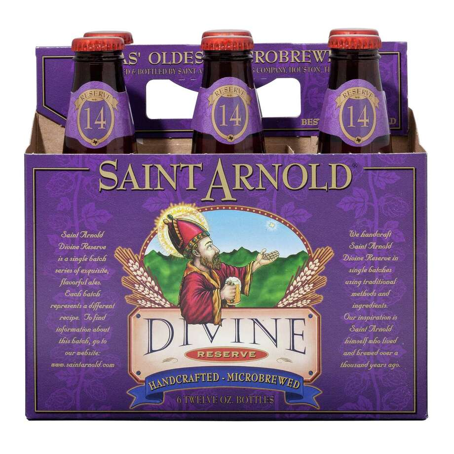 Divine Reserve No. 14, a strong Belgian golden ale, will be released Monday. Photo: DivineReserve / B-Rad Studos 2010