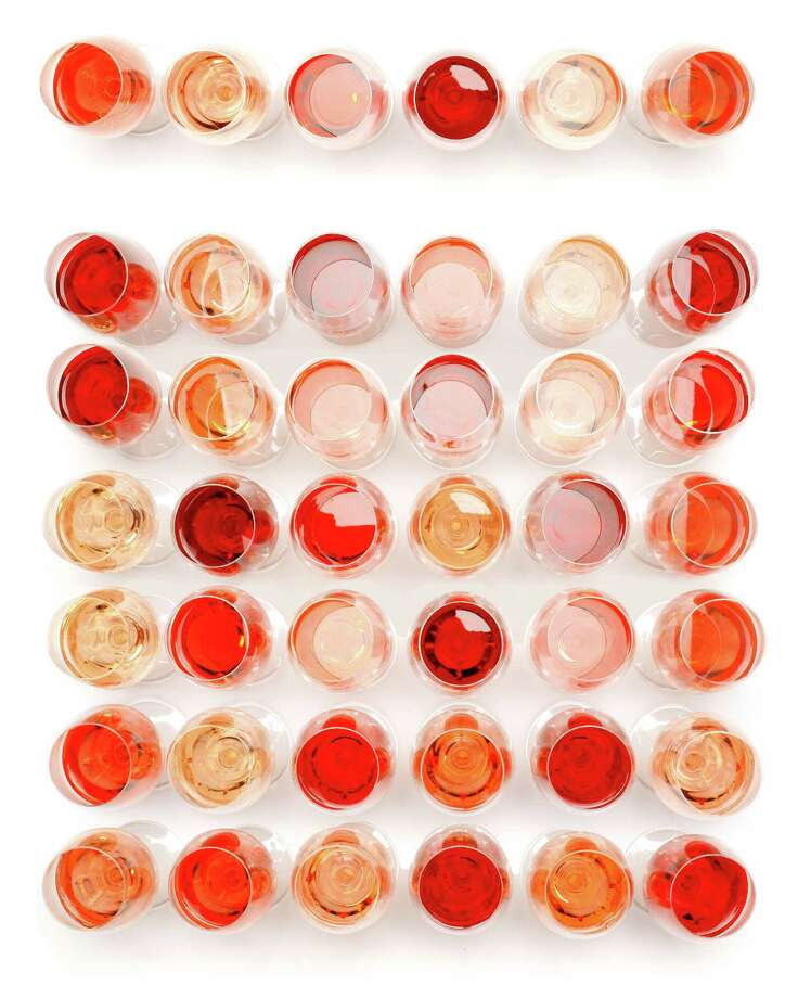 Rosés are perfect for Houston's climate, and food pairings are simple. Photo: Craig Lee, Special To The Chronicle / ONLINE_YES