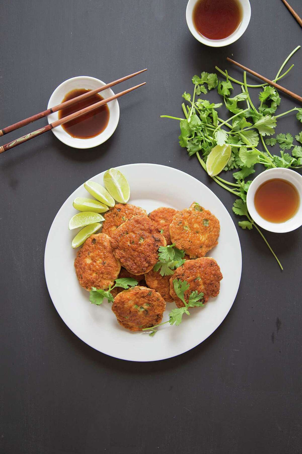 "Thai Fish Cakes from ""The Slim Palate Paleo Cookbook,"" by Joshua Weissman."