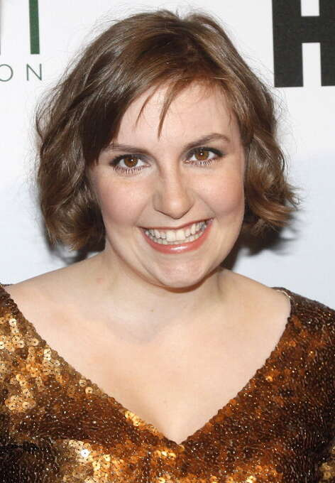 Lena Dunham attends the 2014 Point Honors New York gala at New York Public Library on April 7, 2014 in New York City.  (Photo by Nomi Ellenson/FilmMagic) Photo: Nomi Ellenson, FilmMagic / 2014 Nomi Ellenson