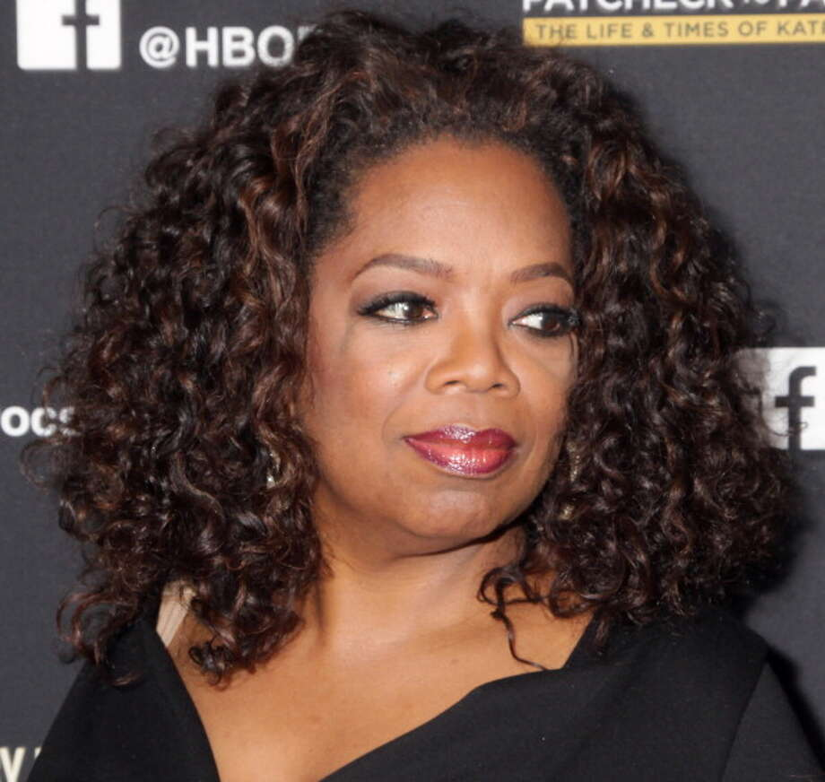 "HOLLYWOOD, CA - MARCH 10:  Oprah Winfrey attends the Los Angeles premiere of HBO Documentary Films ""Paycheck To Paycheck"" at the Linwood Dunn Theater at the Pickford Center for Motion Study on March 10, 2014 in Hollywood, California.  (Photo by Paul Redmond/WireImage) Photo: Paul Redmond, WireImage / 2014 Paul Redmond"