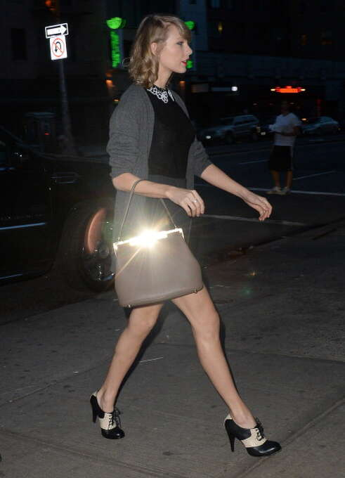 Taylor Swift is seen in Soho on April 14, 2014 in New York City.  (Photo by Raymond Hall/GC Images) Photo: Raymond Hall, GC Images / 2014 Raymond Hall