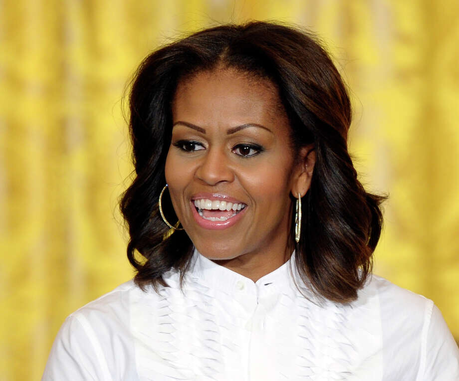 Michelle Obama's Classic Cut In 2007, Obama was an unknown political wife. Since ascending to the White House, she's handled the spotlight with confidence and grace, thanks in part to her elegance, character, and this timeless and flattering cut.  Photo: Susan Walsh, STF / AP