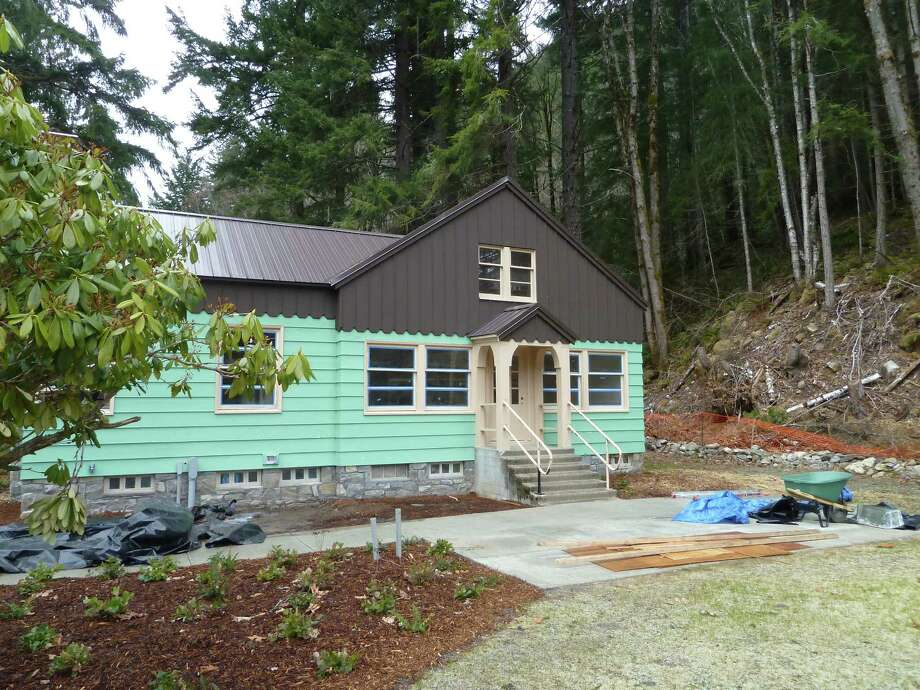 Exterior of Ross Lodge after renovation. Photo: Seattle City Light