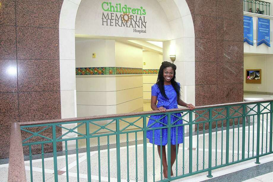 Fehintola Omidele of Katy was assigned to Children's Memorial Hermann Hospital after UT Health Match Day.  Photo: Pin Lim, Freelance / Copyright Pin Lim.