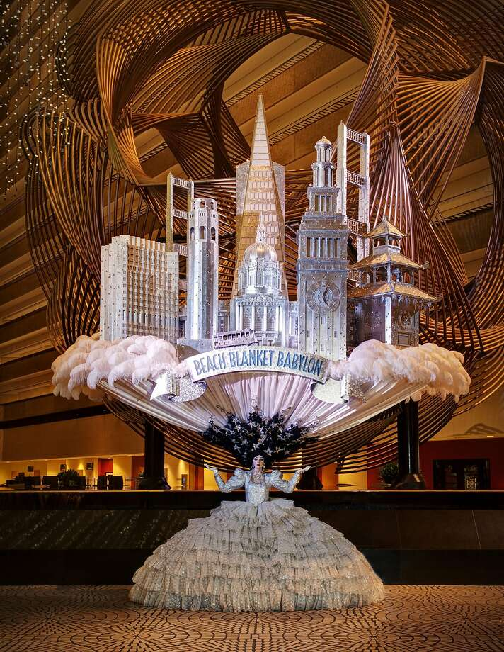 Beach Blanket Babylon S Silver Skyline Hat Celebrated The Show 25th Anniversary In 1999