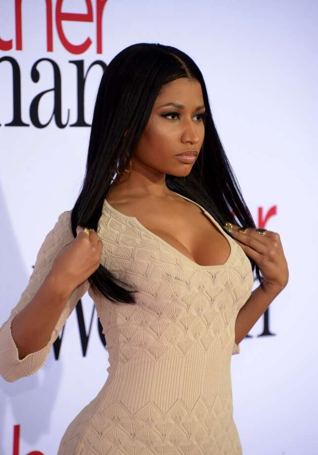 "Recording artist Nicki Minaj attends the premiere of Twentieth Century Fox's ""The Other Woman"" at Regency Village Theatre on April 21, 2014 in Westwood, California. Photo: Jason Kempin, Getty Images"