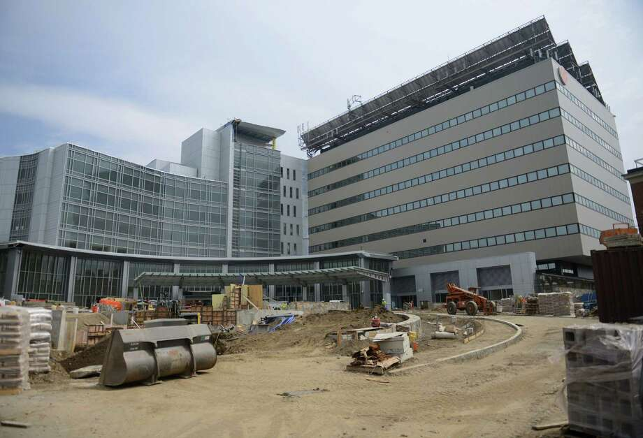 The Emergency Department wing of the Danbury Hospital in Danbury, Conn. nears completion on Tuesday, April 22, 2014.  The $150 million expansion is the largest expansion in the hospital's history and will feature a rooftop helipad, a welcoming and open lobby, additional covered parking, more private rooms for patients, and a much expanded, more sophisticated Emergency Department able to service more patients. Photo: Tyler Sizemore / The News-Times