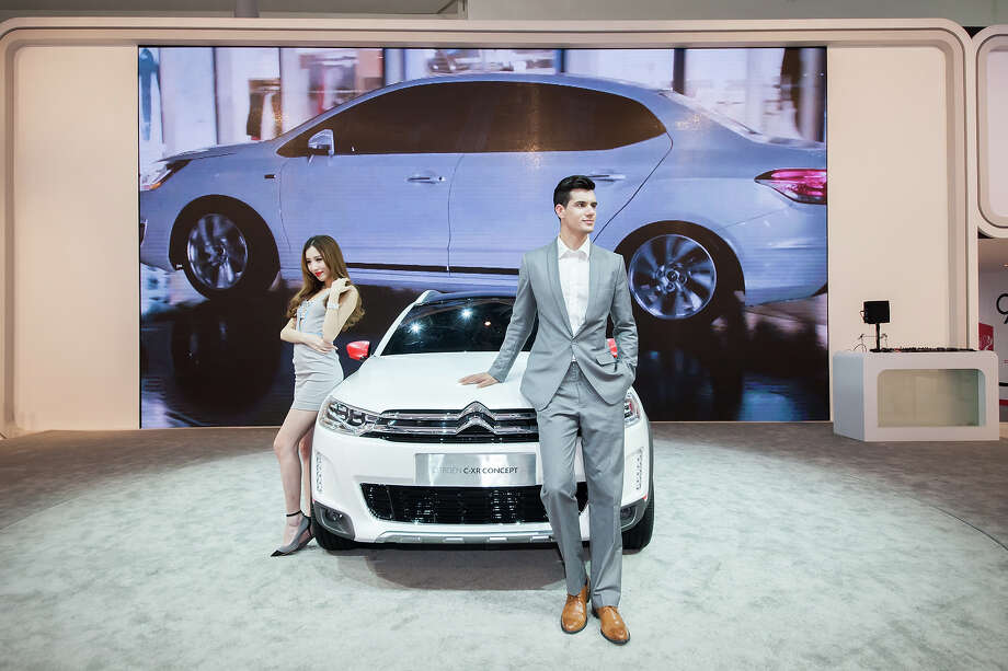 A general view of Citroen at the 2014 Beijing International Automotive Exhibition on April 21, 2014 in Beijing, China.   Auto China is now the dominant auto show in China with a positive impact on the global automotive and exhibition industry.  Photo: Xiao Lu Chu, Wire Images / 2014 Xiao Lu Chu