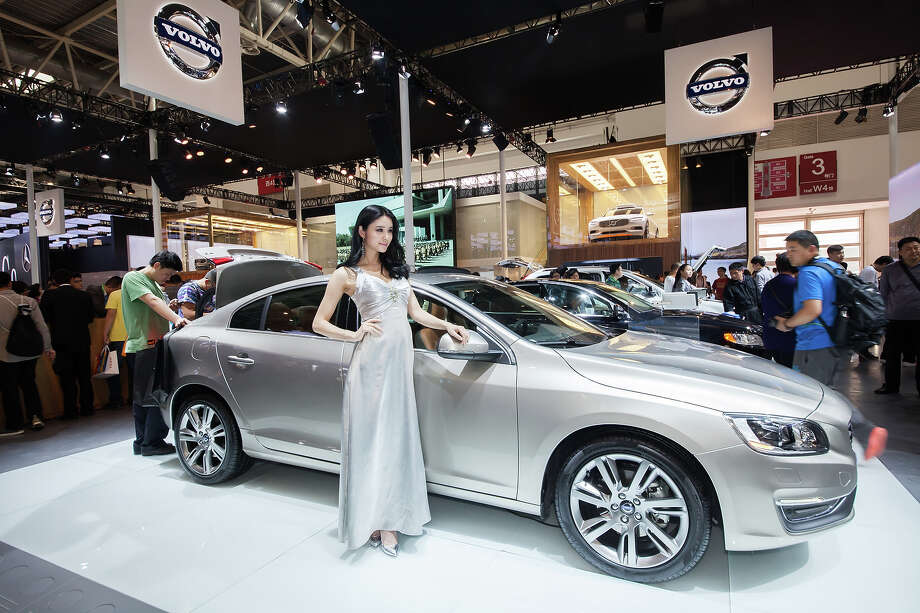A general view of Volvo at the 2014 Beijing International Automotive Exhibition on April 21, 2014 in Beijing, China.   Auto China is now the dominant auto show in China with a positive impact on the global automotive and exhibition industry.  Photo: Xiao Lu Chu, Wire Images / 2014 Xiao Lu Chu