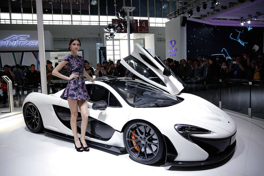 A general view of McLaren at the 2014 Beijing International Automotive Exhibition at China International Exhibition Center on April 22, 2014 in Beijing, China. More than 2,000 automotive enterprises from 14 countries and regions participated in the 2014 Beijing International Automotive Exhibition from April 20 to April 29. Photo: Lintao Zhang, Wire Images / 2014 Getty Images