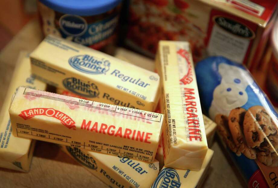 MargarineThe average cost has increased about 30 percent in four years.How to save: When cooking veggies, eggs or meat in the skillet, use an inexpensive, heart-healthy oil such as canola and use spices to add flavor. Photo: Scott Olson, Staff / 2013 Getty Images