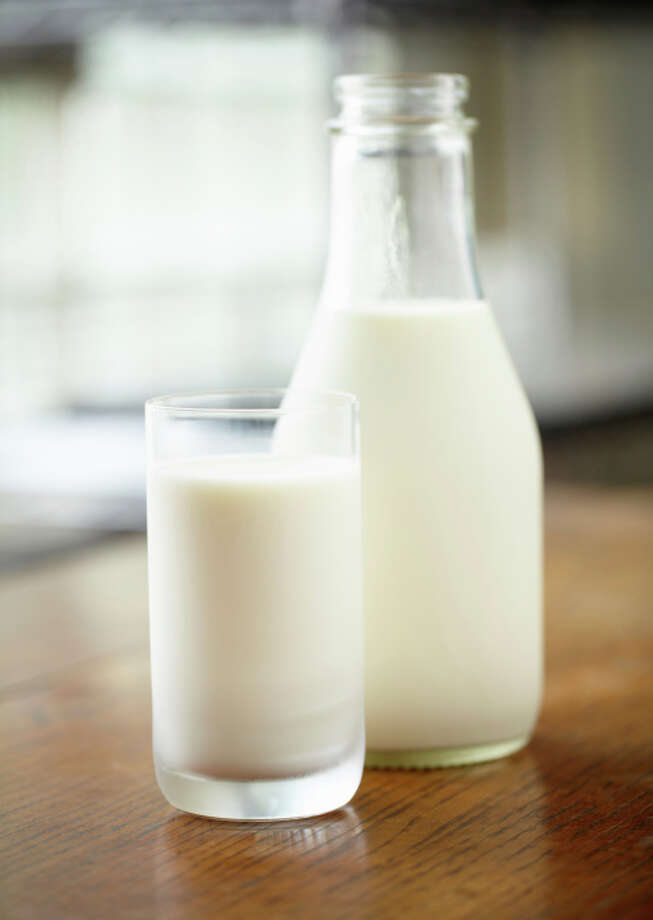 Milk Prices are expected to climb 10 percent through the middle of this year.How to save: It's hard to substitute for milk, but try using a powdered milk in recipes and save the liquid stuff for drinking.  Photo: Paul Johnson, Getty Images / (c) Paul Johnson