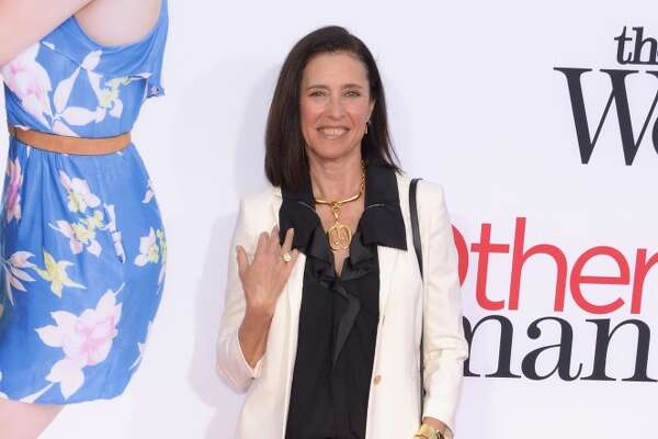 Actress Mimi Rogers attends the premiere of Twentieth Century Fox's 'The Other Woman' at Regency Village Theatre on April 21, 2014 in Westwood, California.
