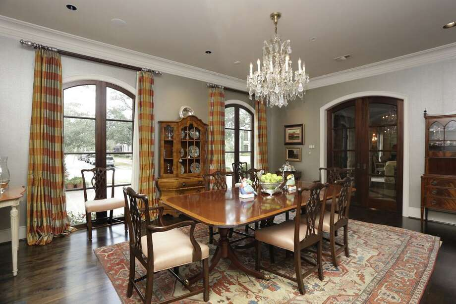 3115 Ella Lee: This 2005 home has 5 bedrooms, 5 full and 2 half bathrooms, 8,170 square feet, and is listed for $4,999,999. Photo: Houston Association Of Realtors
