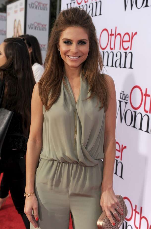 "TV personality Maria Menounos attends the premiere of Twentieth Century Fox's ""The Other Woman"" at Regency Village Theatre on April 21, 2014 in Westwood, California. Photo: Kevin Winter, Getty Images"