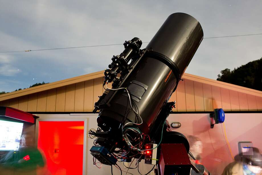 A robotic CCD telescope is just one of a variety of telescopes at the Robert Ferguson Observatory in Sugarloaf Ridge State Park in Kenwood. Photo: Jason Henry, Special To The Chronicle