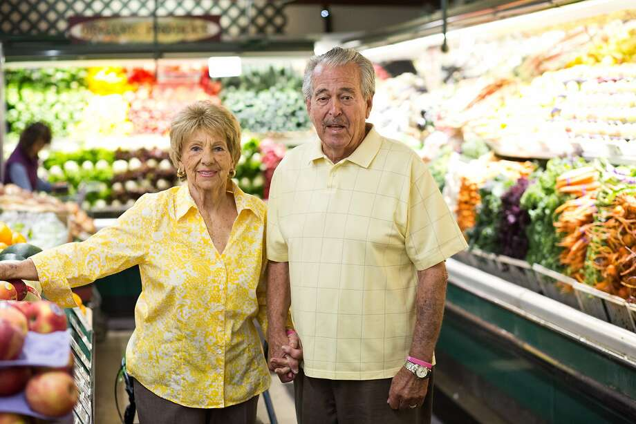 Founders Andy and Katie Skikos at Andy's Produce. The couple and their five children moved to Sonoma County in 1962. Photo: Jason Henry, Special To The Chronicle