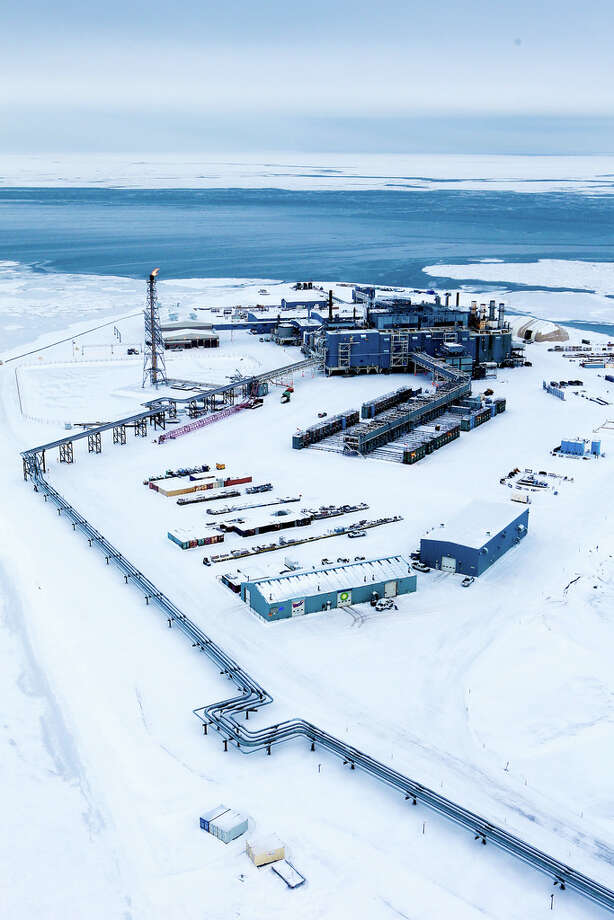 Endicott was the first continuously producing offshore field in the Arctic and located about 3 miles offshore on Alaska's North Slope. Photo: BP