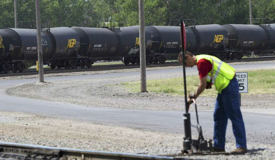"""The U.S. Transportation Department is writing new rules for tank cars carrying oil and ethanol. Meanwhile, tens of thousands of """"good faith"""" tank cars have been voluntarily built with safety features that go beyond current mandates. Tank car manufacturers worry that further improvements will be made obsolete under the forthcoming government rules. Photo: Associated Press File Photo / AP"""