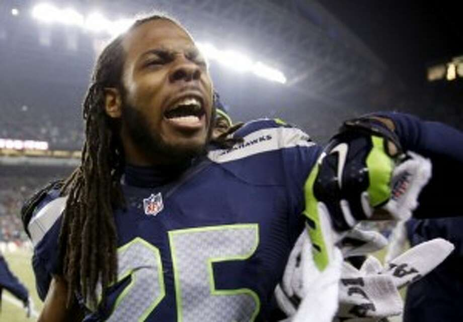 "Richard Sherman, Seattle Seahawks cornerbackTime calls him ""the NFL cornerback who smack-talks athlete stereotypes.""Related: Richard Sherman and the loudest athletes in sports"