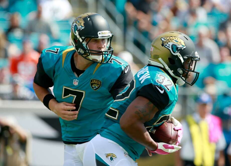 32. Jacksonville Jaguars181,080 average monthly player searchesTop five players:WR Justin Blackmon (60,500)WR Mike Brown (33,100)QB Chad Henne (14,800)RB Toby Gerhart (14,800)CB Alan Ball (12,100) Photo: Sam Greenwood, Getty Images