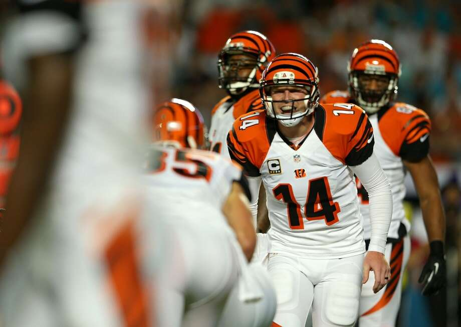 31. Cincinnati Bengals205,370 average monthly player searchesTop five players:QB Andy Dalton (49,500)WR A.J. Green (49,500)RB Benjarvus Green-Ellis (18,100)LB Vontaze Burfict (12,100)LB Rey Maualuga (9,900) Photo: Mike Ehrmann, Getty Images