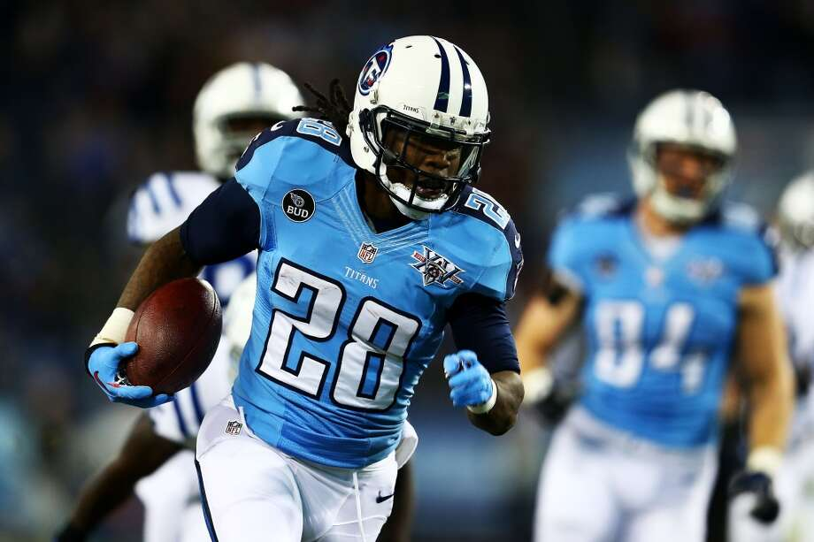 17. Tennessee Titans463,260 average monthly player searches  Top five players:RT Michael Oher (246,000)RB Chris Johnson (74,000)QB Jake Locker (40,500)SS Bernard Pollard (22,200)TE Delanie Walker (14,800) Photo: Andy Lyons, Getty Images
