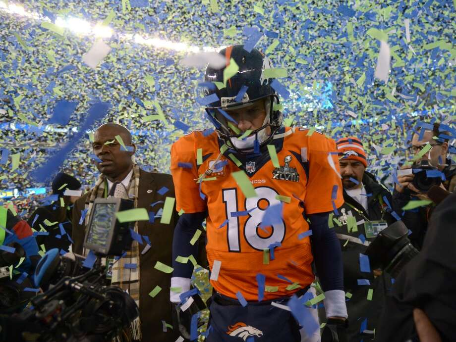 1. Denver Broncos1,748,100 average monthly player searches  Top five players:QB Peyton Manning (1,000,000)WR Wes Welker (246,000)C Manny Ramirez (90,500)LB Von Miller (74,000)RB Montee Ball (60,500) Photo: John Leyba, Denver Post / Getty Images