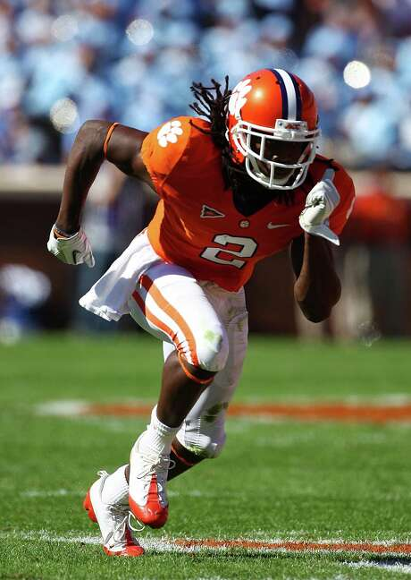 In a draft bursting with talent at wide receiver, Clemson's Sammy Watkins should be the first pass catcher to hear his name called. Photo: Scott Halleran, Staff / 2011 Getty Images